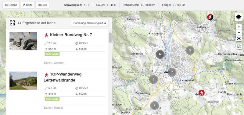 Wanderwege Deutschland Karte.Wandern
