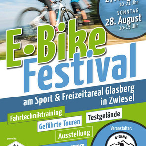 E-Bike Festival am Sport & Freizeit Areal Glasberg Zwiesel