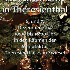Adventsmarkt in Theresienthal