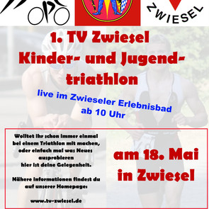 1. Kinder- und Jugendtriathlon in Zwiesel
